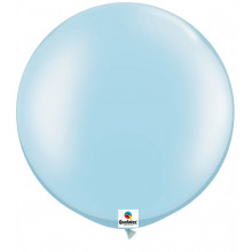 Balon Pearl Light Blue 75 cm - 2 kom