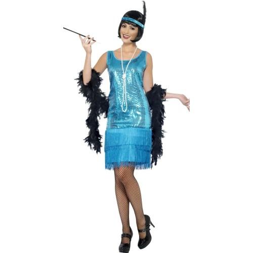 Flapper turkizan kostim
