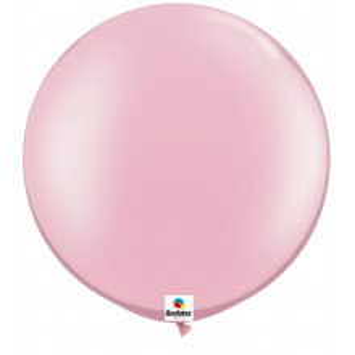 Balon Pearl Pink - svijetleća ružičasta 75 cm - 2 kom