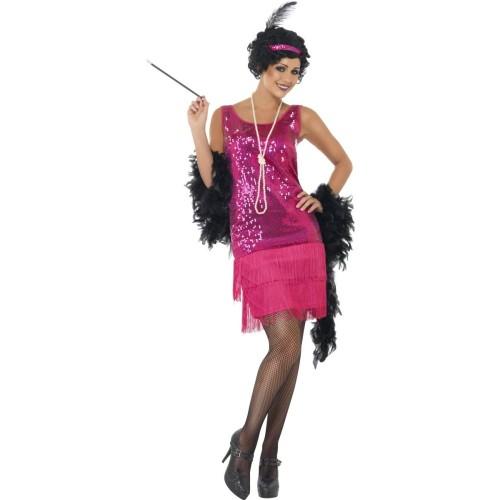 Flapper pink kostim
