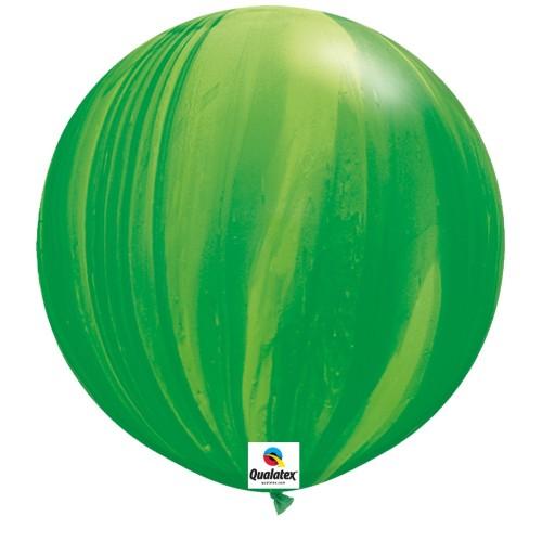 Balon Green Rainbow - 75 cm - 2 kom