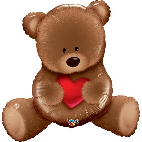 Teddy Bear Love - folija balon