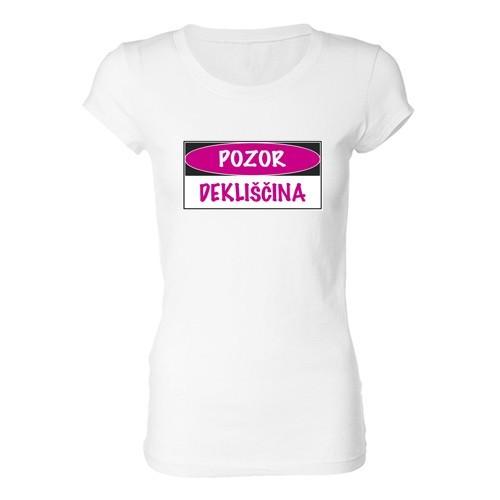 Ženska majica - Pozor...