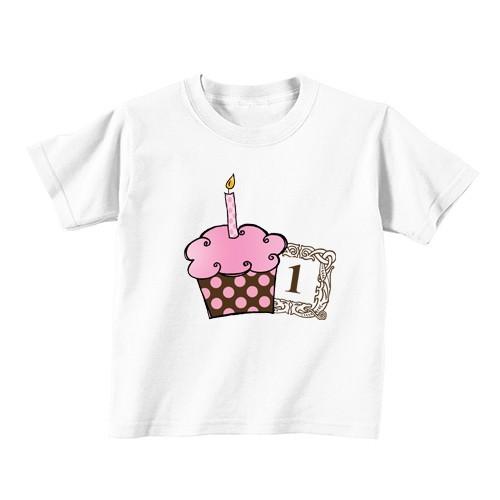 Dječija majica - Broj 1 - Ružičasta tortica