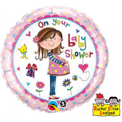 Rachel Ellen On Your Baby Shower - folija balon