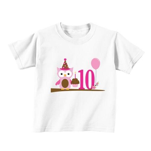 Dječija majica - Broj 10 - Sova