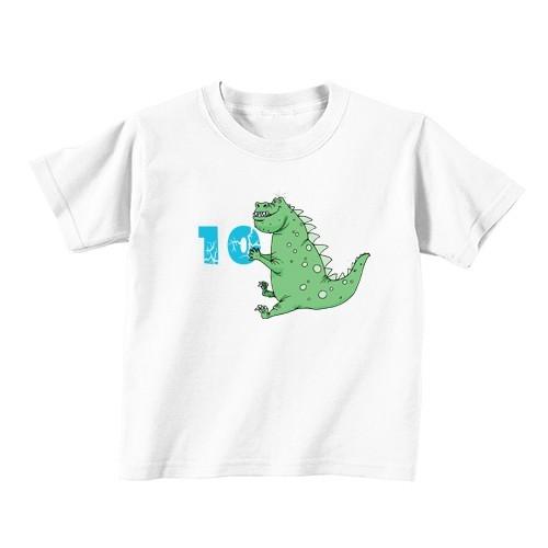 Dječija majica - Broj 10 - Dinosaurus