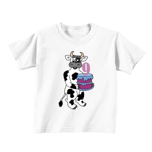 Dječija majica - Broj 9 - krava