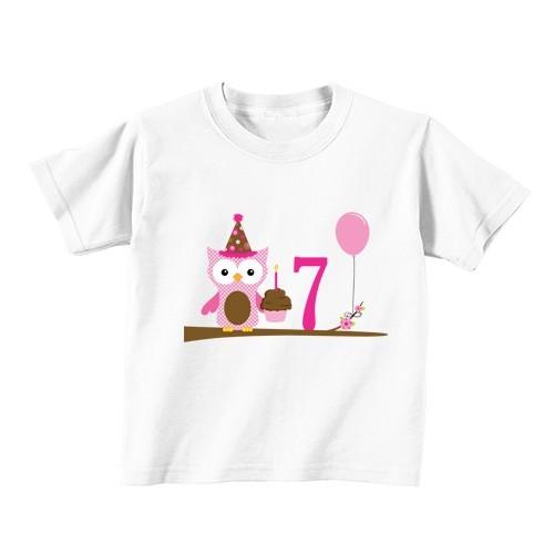 Dječija majica - Broj 7 - sova