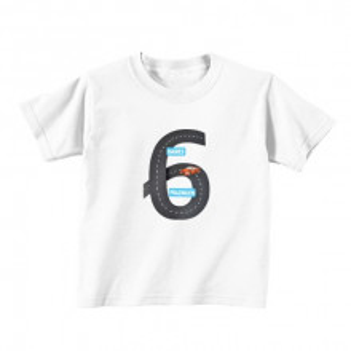 Dječija majica - Broj 6 - avtocesta