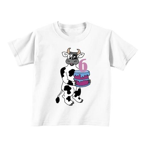 Dječija majica - Broj 6 - Krava