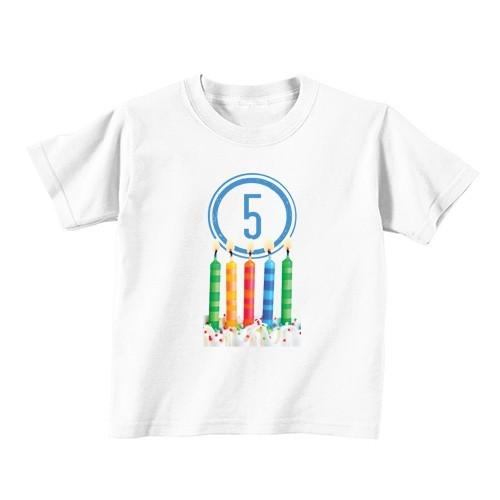 Dječija majica - Broj 5 - Svijeće