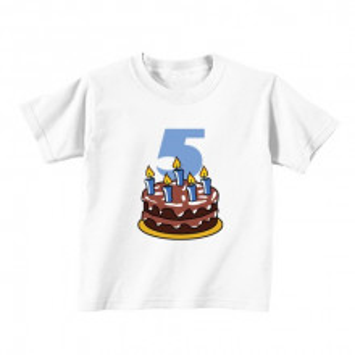 Dječija majica - Broj 5 - Tortica