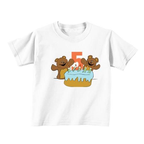 Dječija majica - Broj 5 - Medvjedići