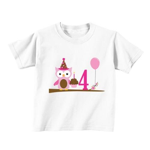 Dječija majica - Broj 4 - sova