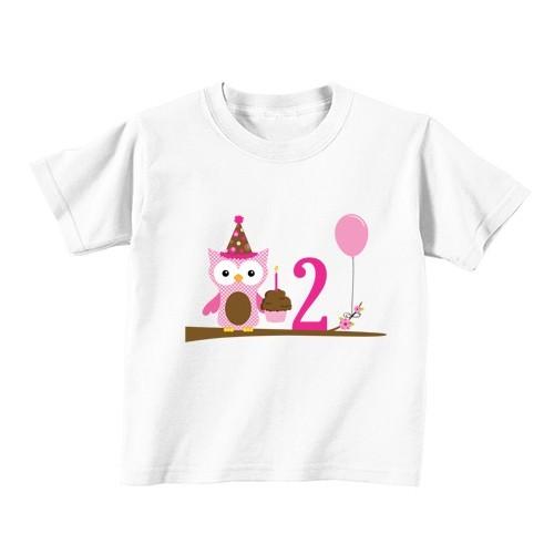 Dječija majica - Broj 2 - Sova