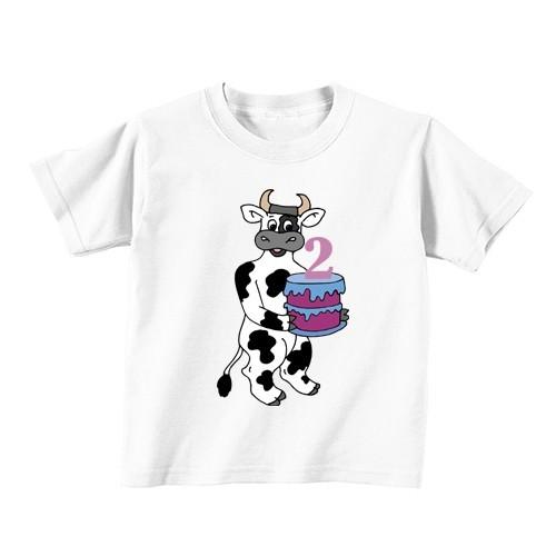 Dječija majica - Broj 2 - Krava