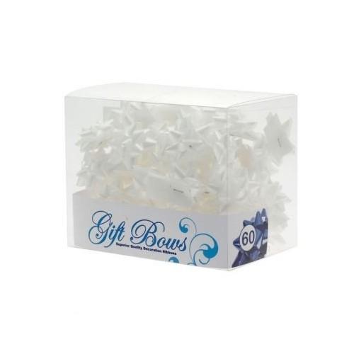 Mini mašne u kutiji - bijela
