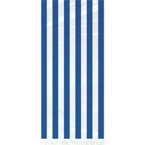 Plava celofan vrećice sa crtama
