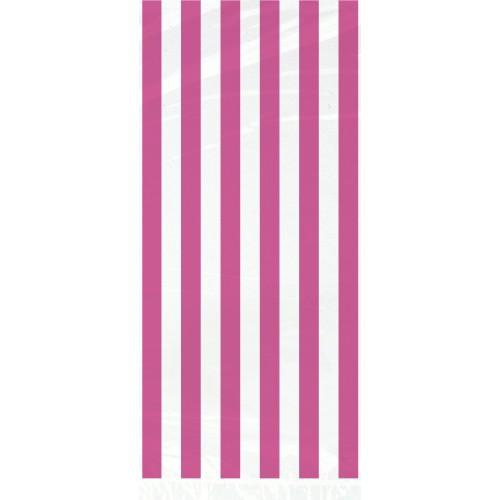 Pink celofan vrećica sa crtama