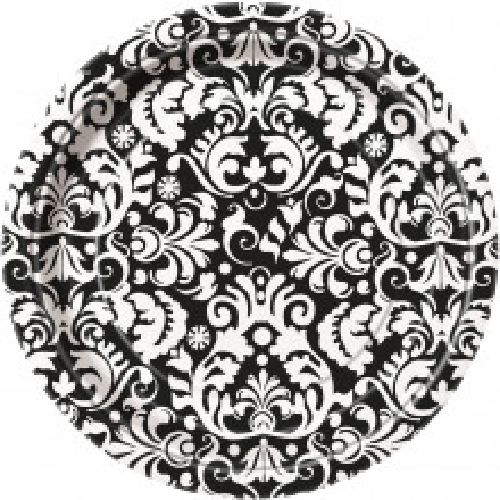Tanjiri 18 cm - Crni Damask 8 kom