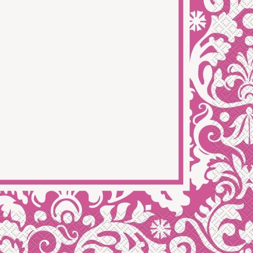 Salvete - Pink Damask