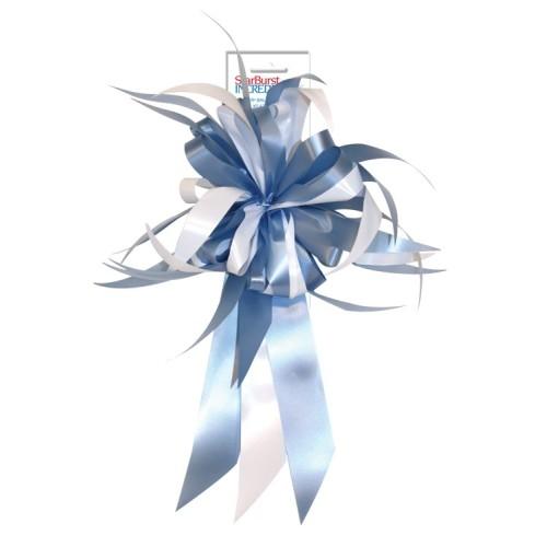 Mašna - svijetlo plava i bijela