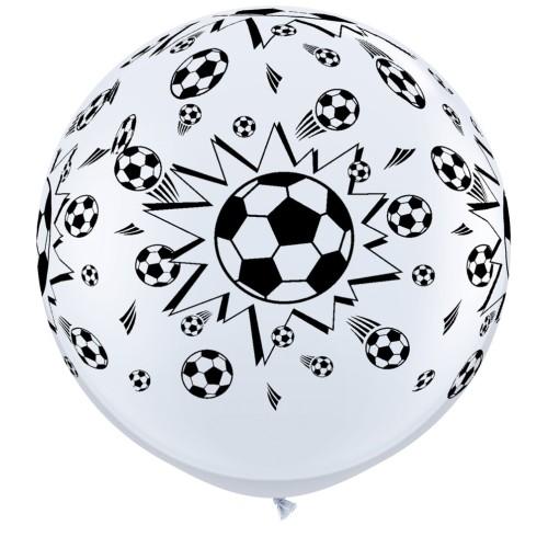 Veliki tiskani balon 90 cm - nogomet