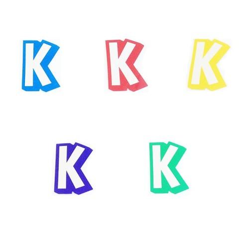 Slovo K - naljepka