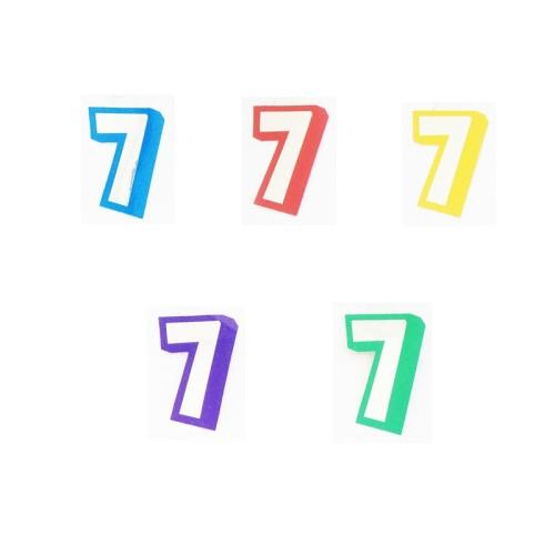 Broj 7 - naljepka