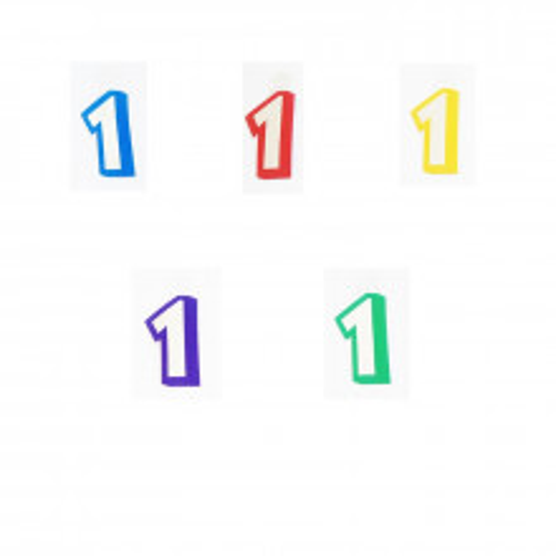 Broj 1 - naljepka
