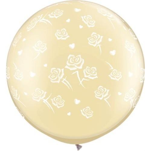 Balon Hearts & Roses 78 cm