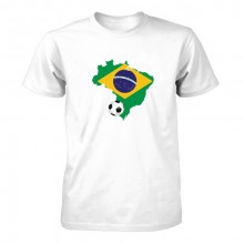 Muška majica - Brazil i lopta
