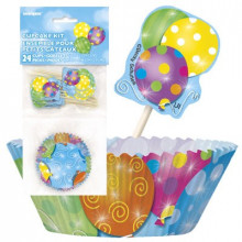 Twinkle balloons komplet za muffine