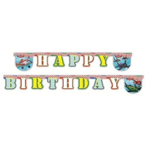 Planes Happy Birthday napis