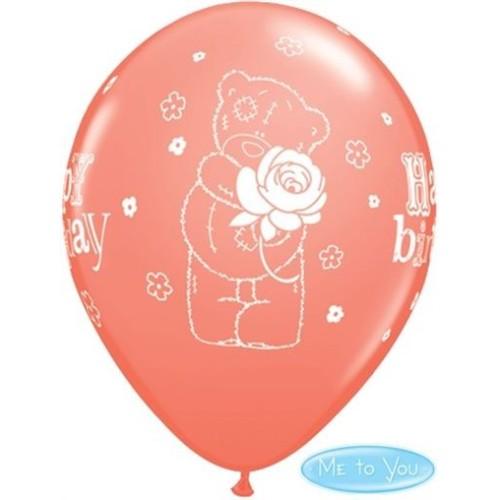 Balon Tatty Teddy Bday Rose