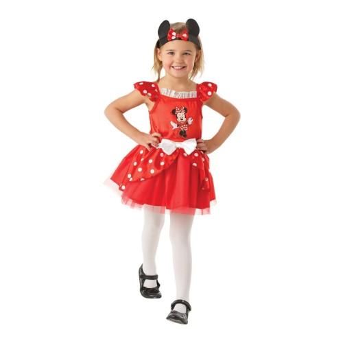 Minnie Mouse crveni balerina kostim