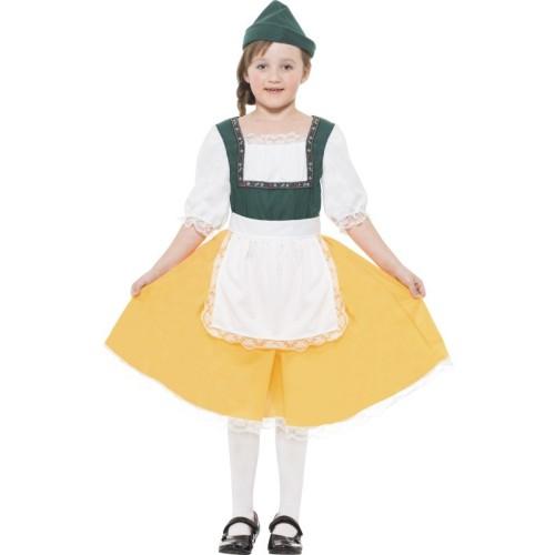 Bavarska djevojka kostim
