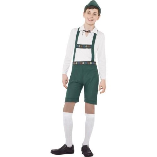 Bavarski dječak kostim