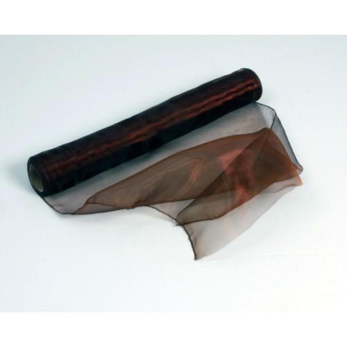 organza èokoladno rjava