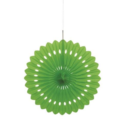 Svijetlo zelena ukrasna pahljača