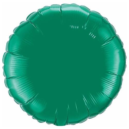 Folija balon - esmeraldno zelena 10 cm