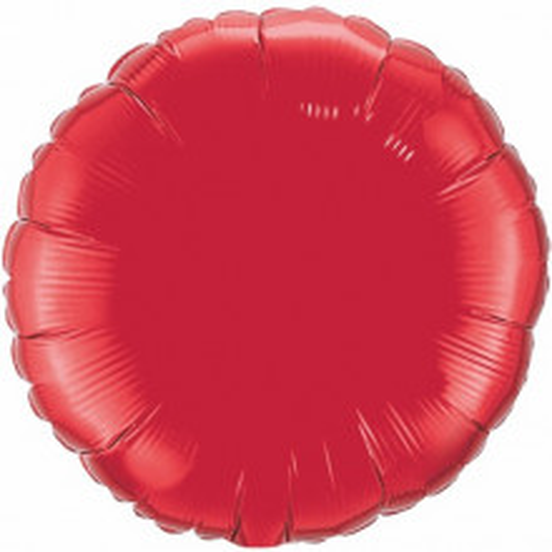 Folija balon - rubin crvena 10 cm