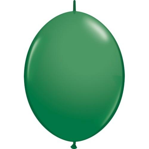 Balon Quick Link - zelena 30 cm