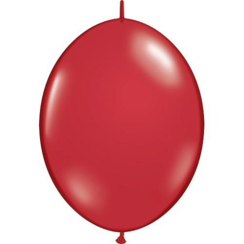 Balon Quick Link - rubin crvena 30 cm