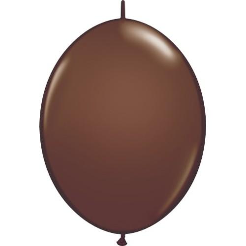 Balon Quick Link - čokolada smeđa 30 cm
