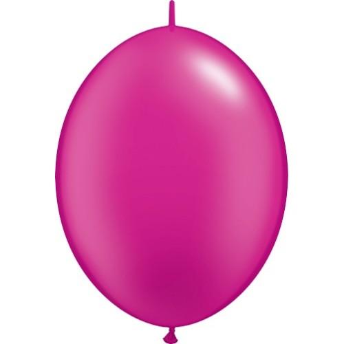 Balon Quick Link - metalik magenta 30 cm