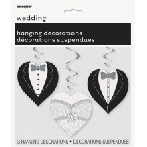 Wedding Heart viseča...