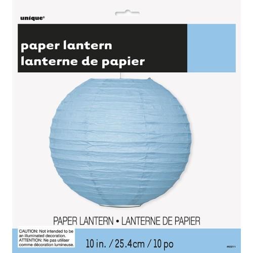 Svijetlo plavi lampion 25 cm