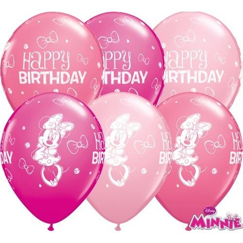 Balon Minnie Mouse Bday